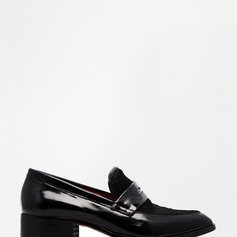Frances Pointed Loafers