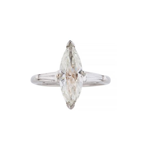 1.24ctw Marquise Diamond Ring