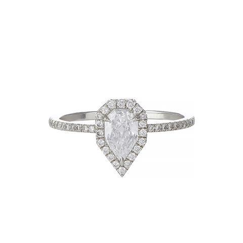 Diamond & Platinum Solitaire