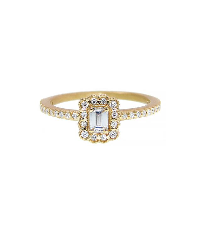 Megan Thorne Mosaic Emerald Cut Ring