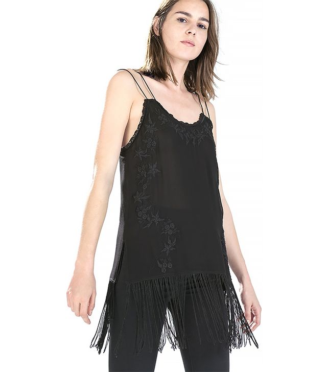 Zara Fringed Camisole Top