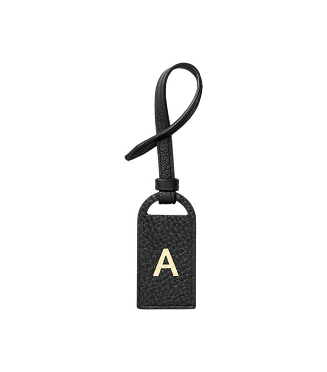 Kate Spade Saturday Initial Leather Tag