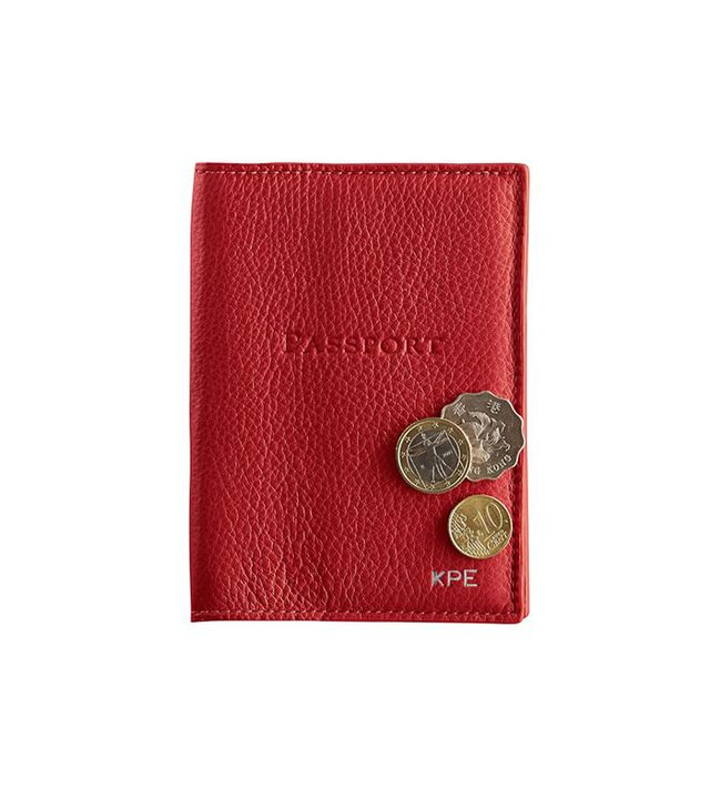 Mark & Graham Leather Passport Case