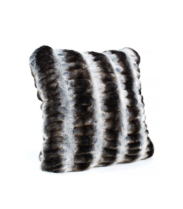 Fabulous Furs Grey Chinchilla Faux Fur