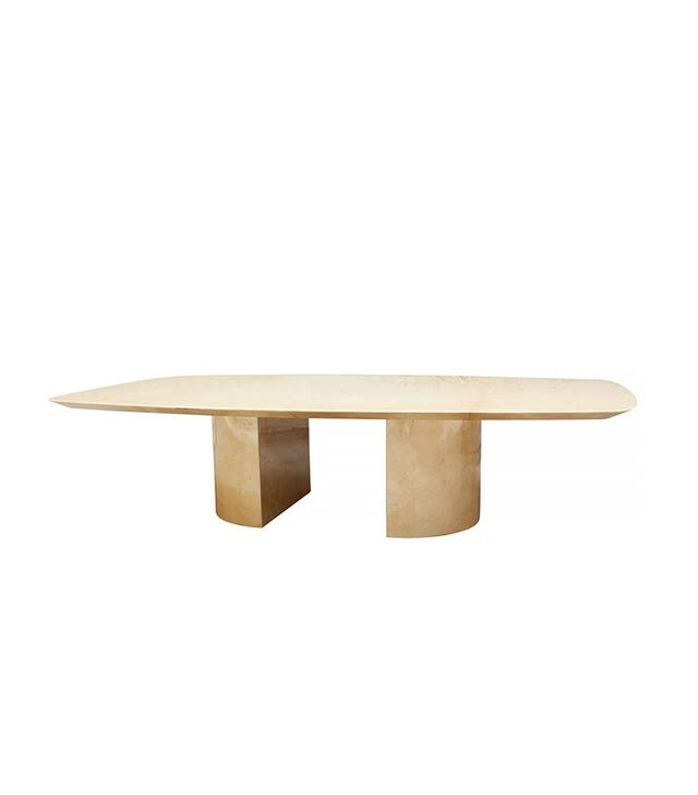 Aldo Tura Parchment Cocktail Table