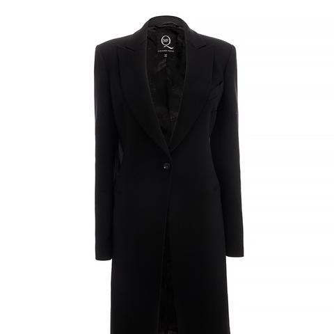 Textured Evening Coat