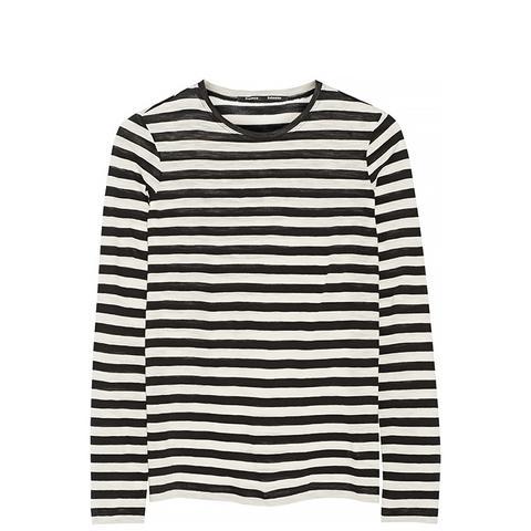 Striped Slub Cotton Top