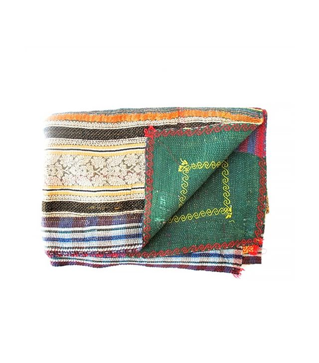 The Loaded Trunk Vintage Kantha Throw No. 2