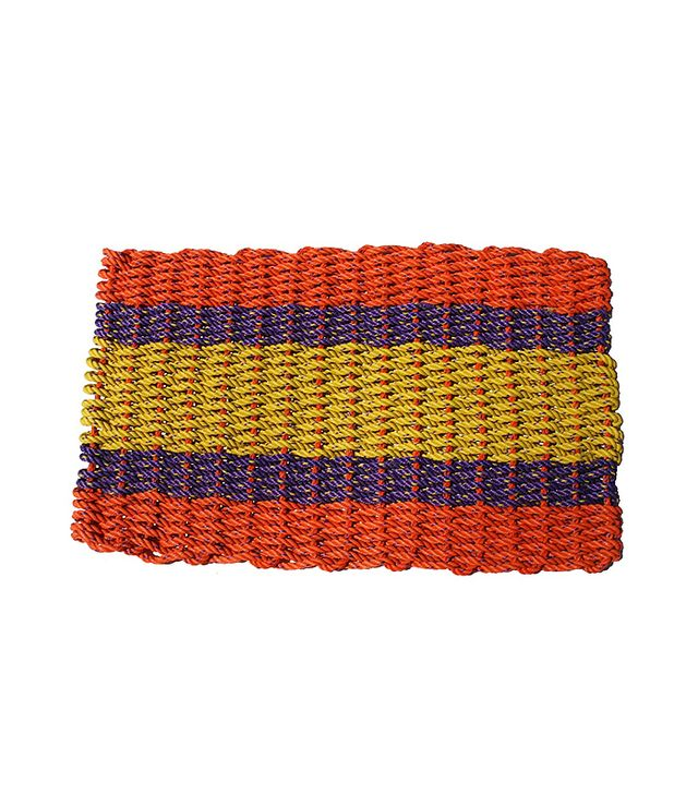 The Maine Float-Rope Co. Orange Doormat