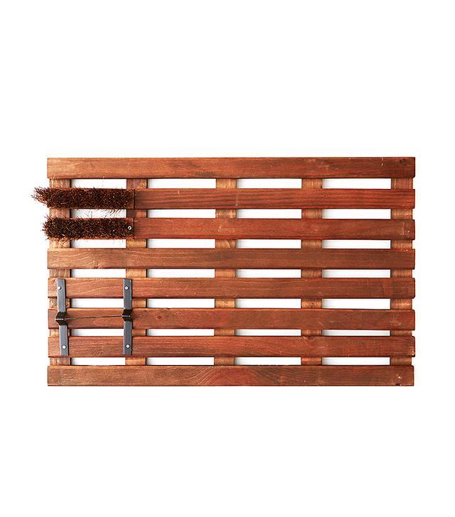 Terrain Wooden Grate Doormat