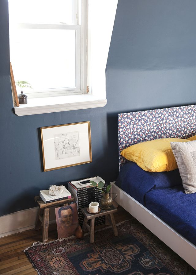Before and After: A Colourful Bedroom Refresh