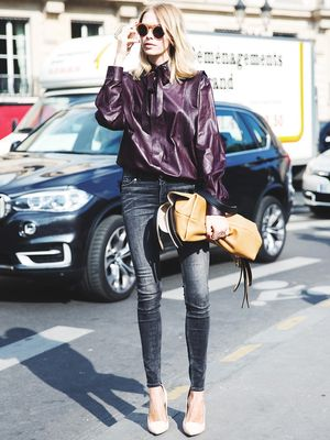 Tip of the Day: How to Style a Leather Shirt