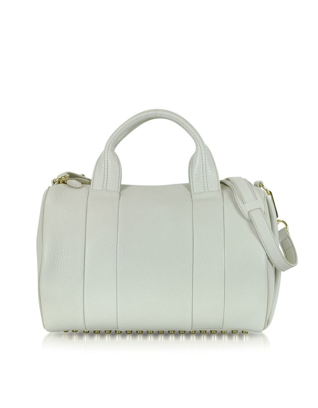 Alexander Wang Rocco Steam with Pale Gold Satchel