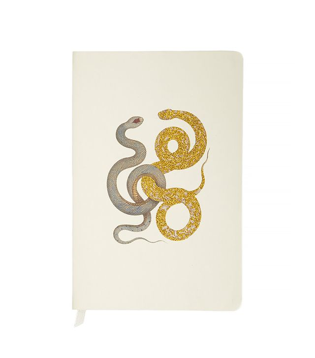 D.L. & Co. Snake Motif Journal