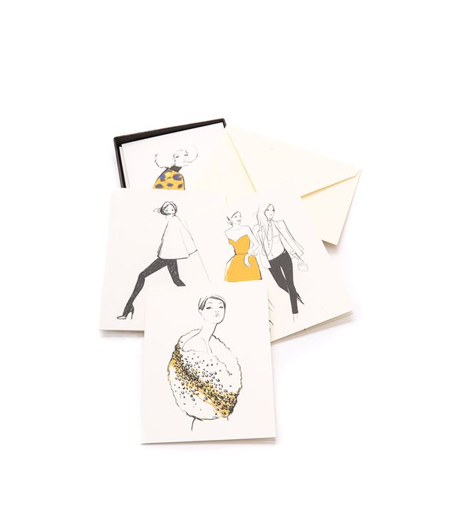 Rifle Paper Co. Garance Dore Collection Assorted Girls Greeting Card Set