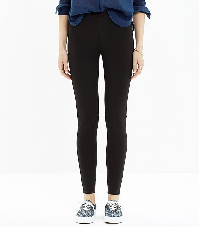 Madewell Pieced Ponte Leggings