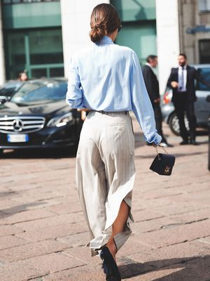 Would You Wear It? Trousers With Exaggerated Slits