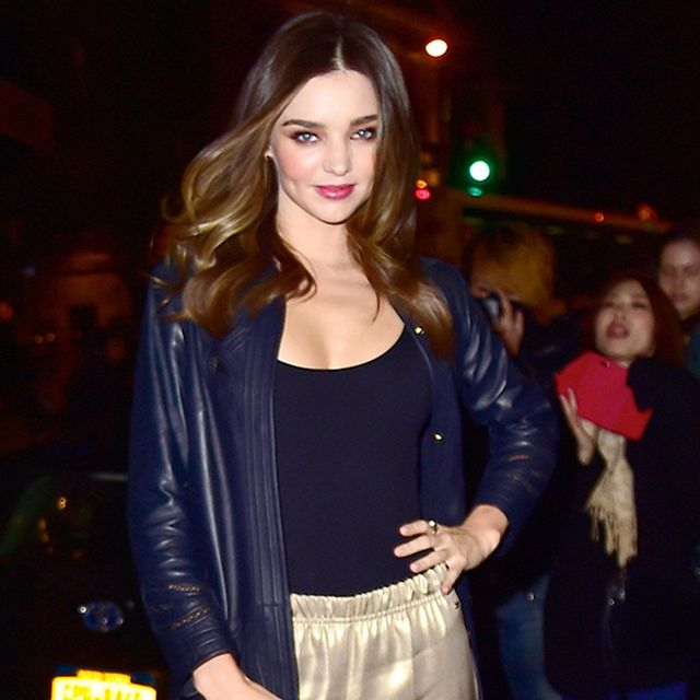Want to Ditch the Dress This Holiday? Follow Miranda Kerr's Lead
