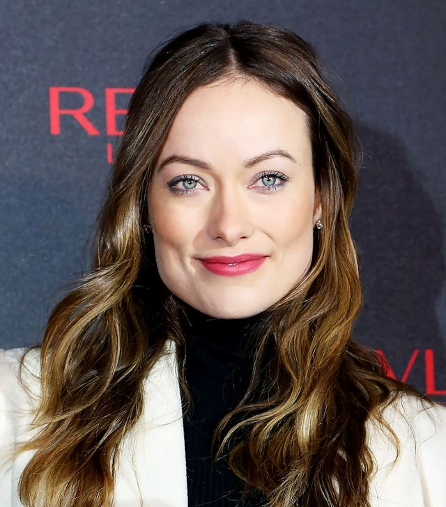 Olivia Wilde's Rosy-Red Lipstick is a Drugstore Gem