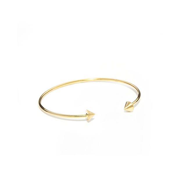 ASOS Orelia Open Cone Arrow Cuff Bracelet
