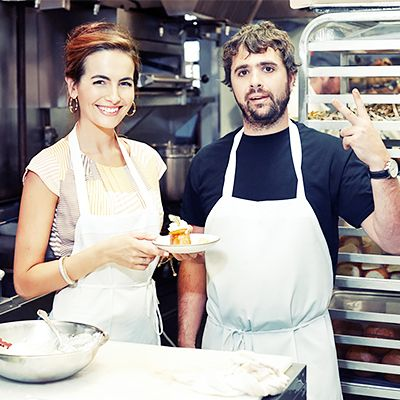 Camilla Belle Hones Her Cooking Skills With One of L.A.'s Top Chefs