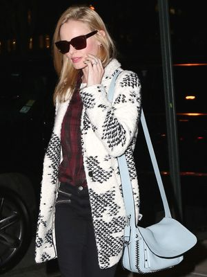The Cool Brand Behind Kate Bosworth's Perfect Coat