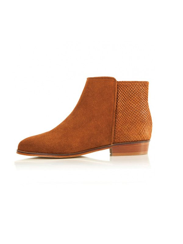 Bobbies Brown Ankle Boots