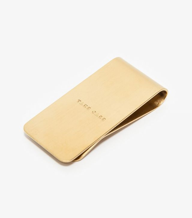 "Izola ""Take Care"" Money Clip"