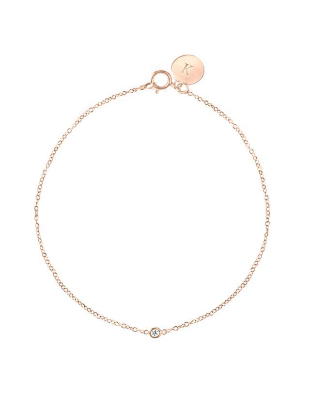 Vrai & Oro Solitaire Diamond Bracelet