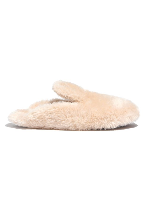 Madewell Faux-Shearling Snow Cloud Slippers