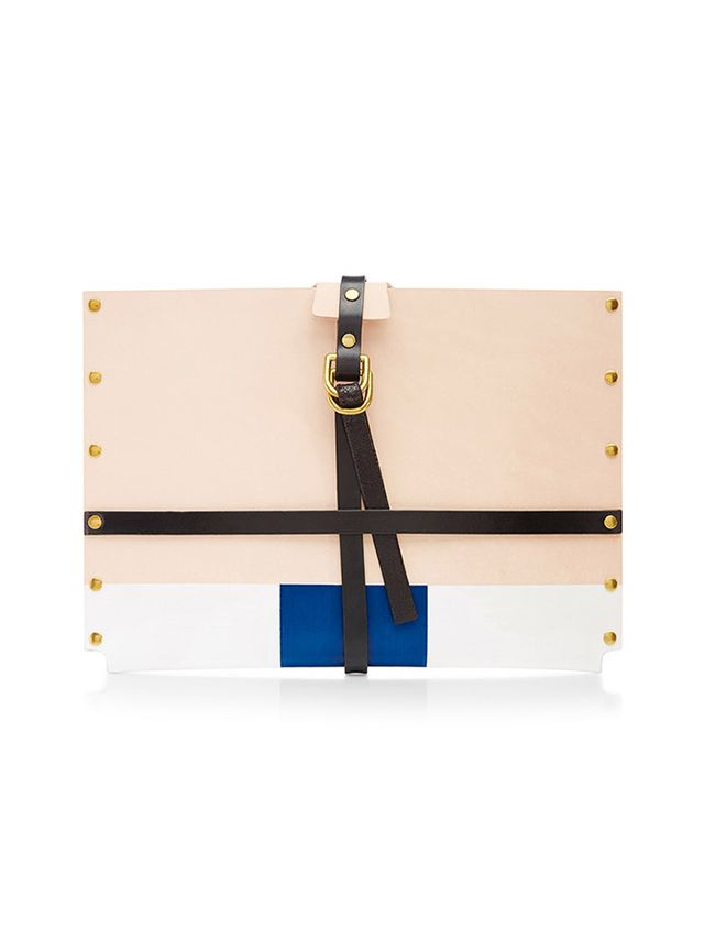 Dillon des Pres iPad Skinner Case with Blue Stripe