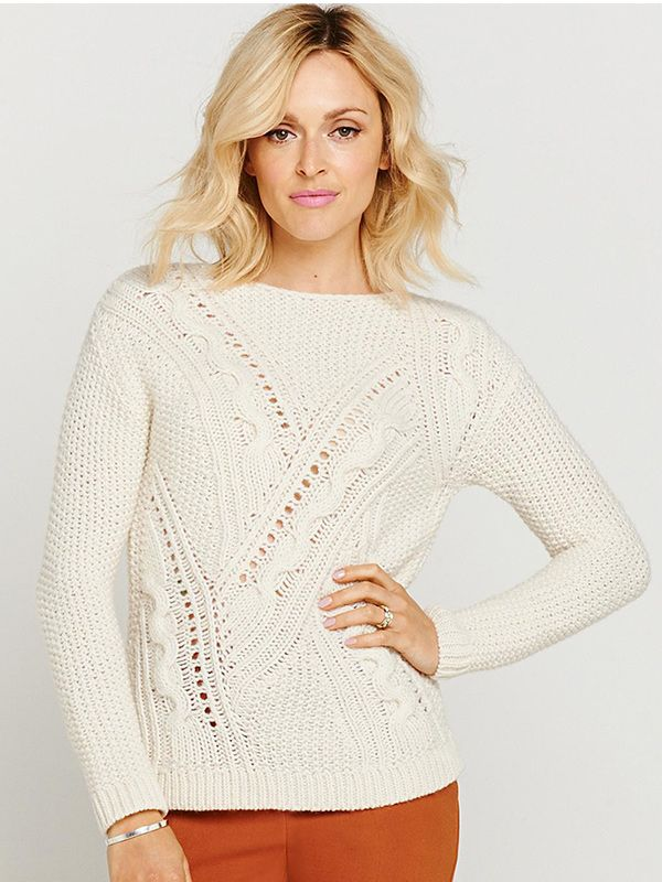 Fearne Cotton for Very Cable Crew Neck Jumper