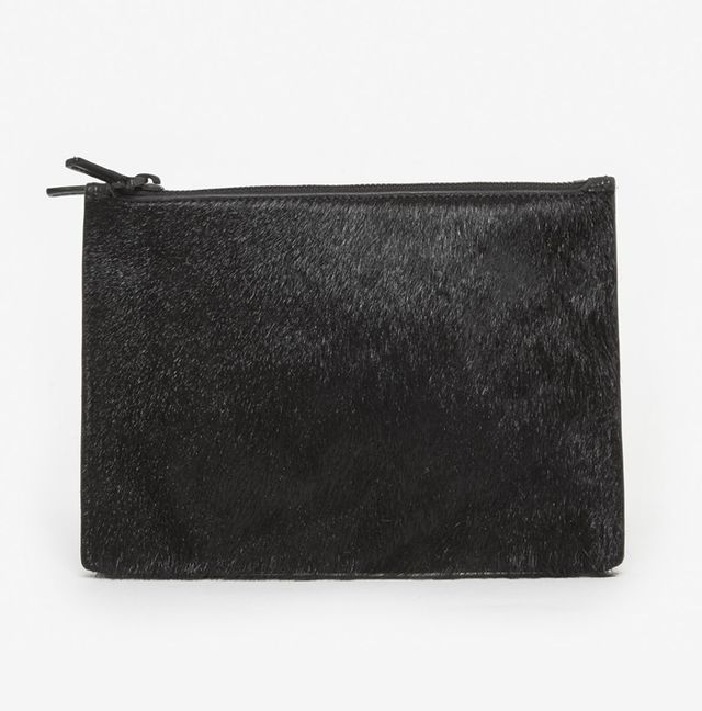 Helmut Lang Small Fur Pouch
