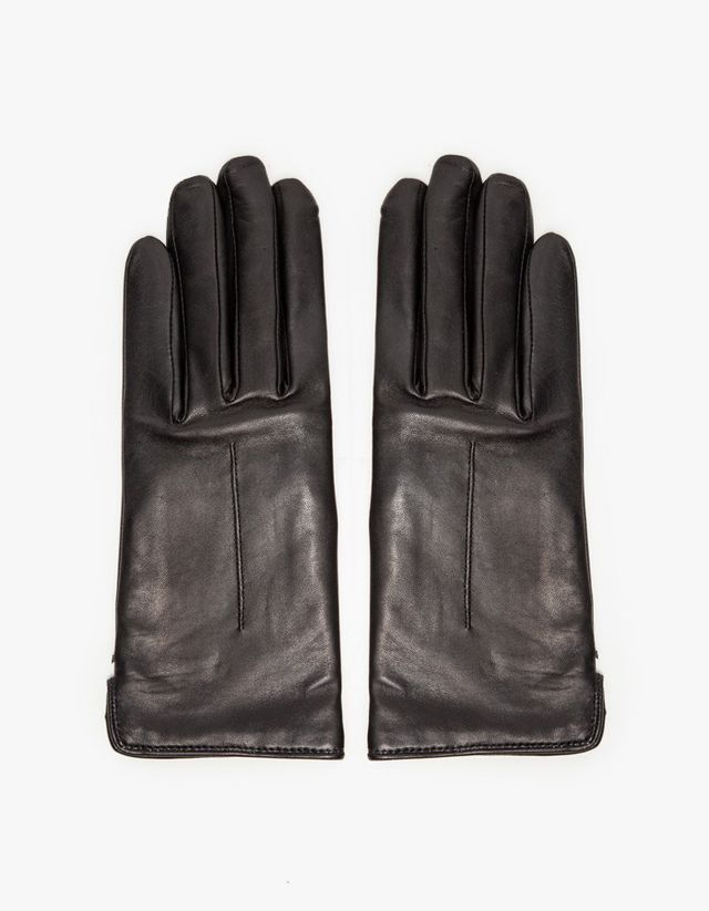 ASOS Leather Gloves With Heart Cut Out
