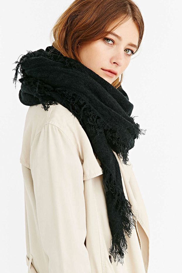 Solid Cosy Blanket Scarf