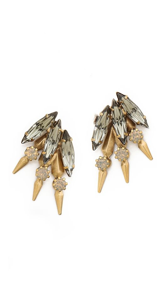 Elizabeth Cole Hogan Earrings