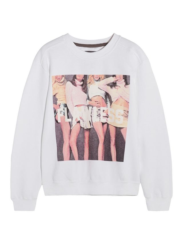 FINDS + Untitled&Co Flawless Printed Cotton-Blend Sweatshirt