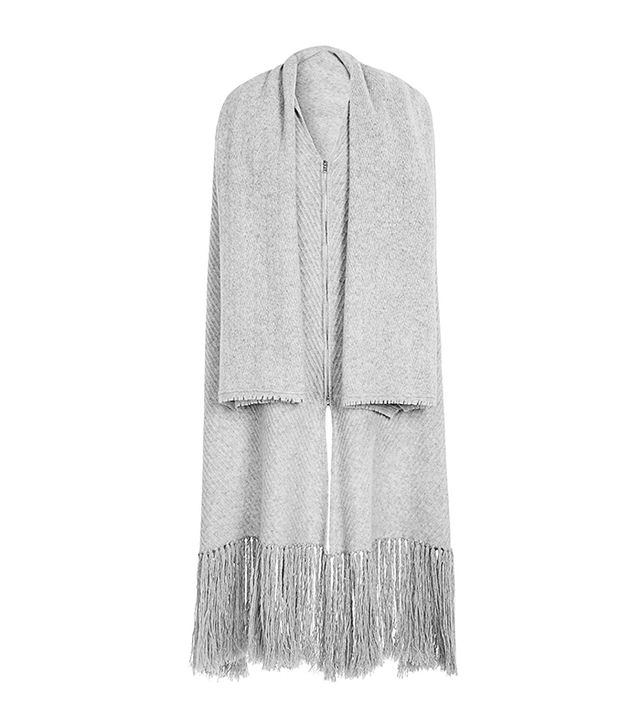 Thakoon Addition Fringed Knit Poncho
