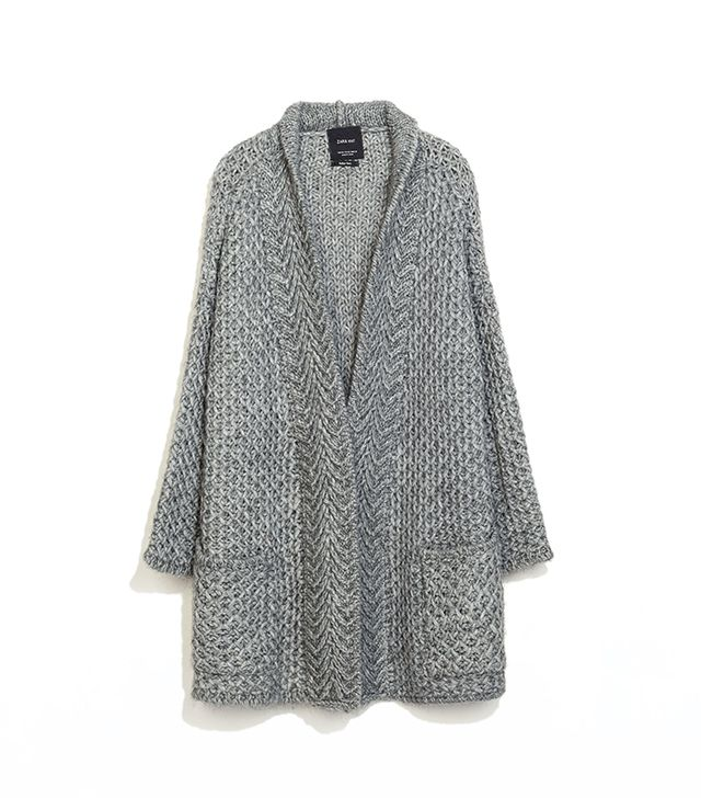 Zara Knit Cardigan with Pockets