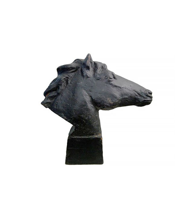 Bjork Studio Vintage Swedish Cast Iron Horse Sculpture