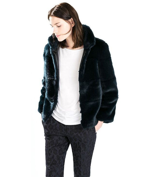 Zara Furry Jacket