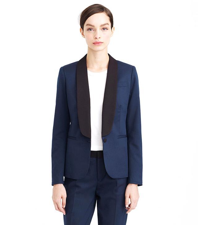 J. Brand Two-Tone Tuxedo Jacket