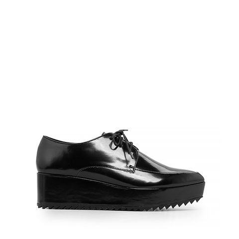 Platform Oxford Shoes