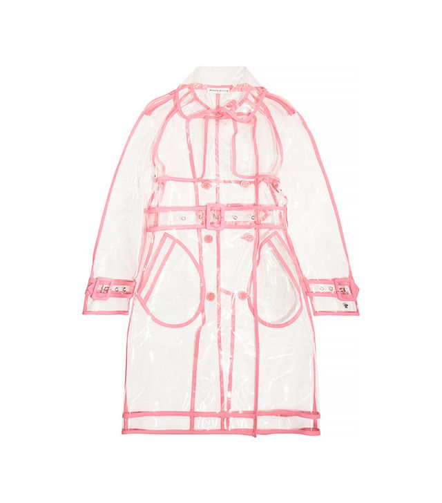 Finds + Wanda Nylon PU Trench Coat