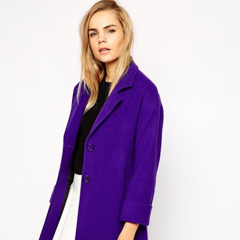 Two-Button Swing Coat