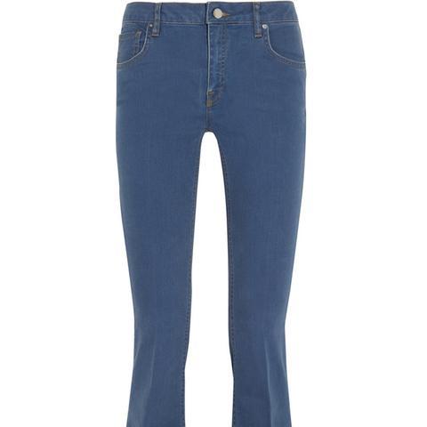Denim Flare High-Rise Jeans