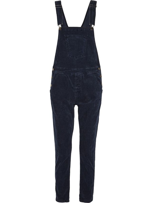Current/Elliott Shirley Stretch-Corduroy Overalls