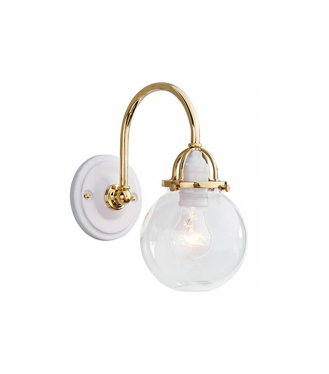 Rejuvenation Mist Arched Metal Sconce
