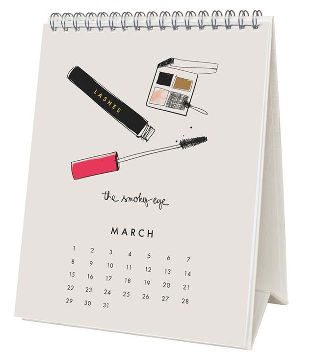 Garance Dore 2015 Beaute Desk Calendar