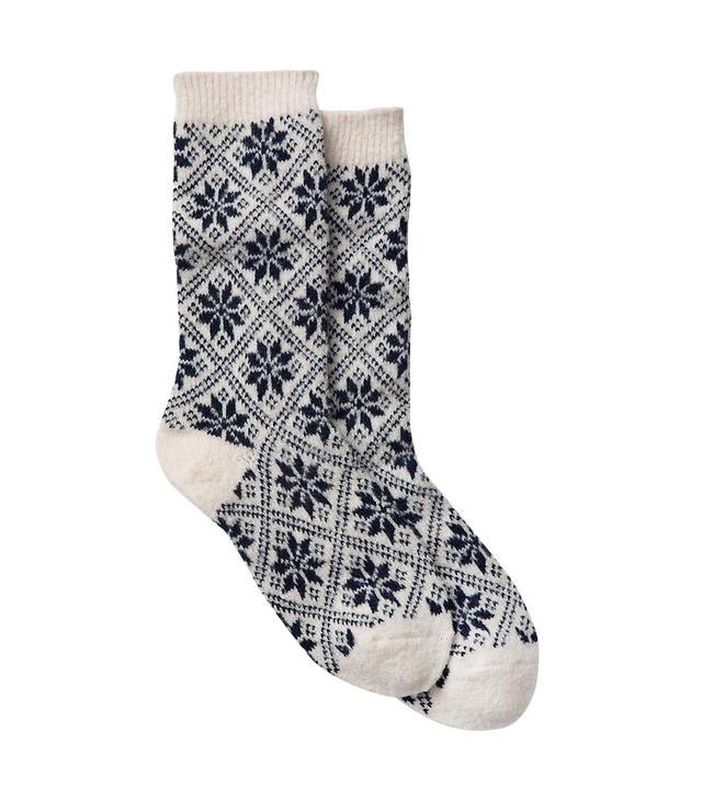 Gap Snowflake Socks